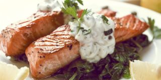 Grilled Salmon – $3.20